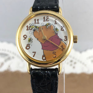 Timex Accessories - Vintage Timex Pooh Bear Bees Spin Around Pooh Bear